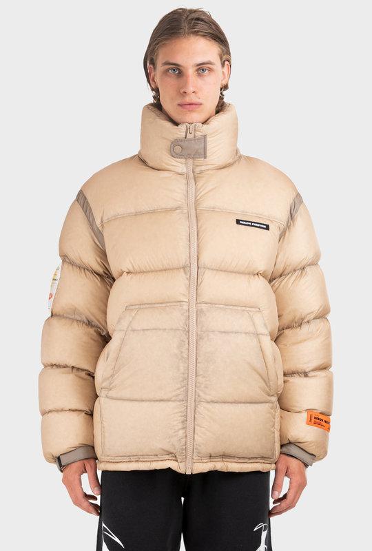 Puffer Jacket Beige
