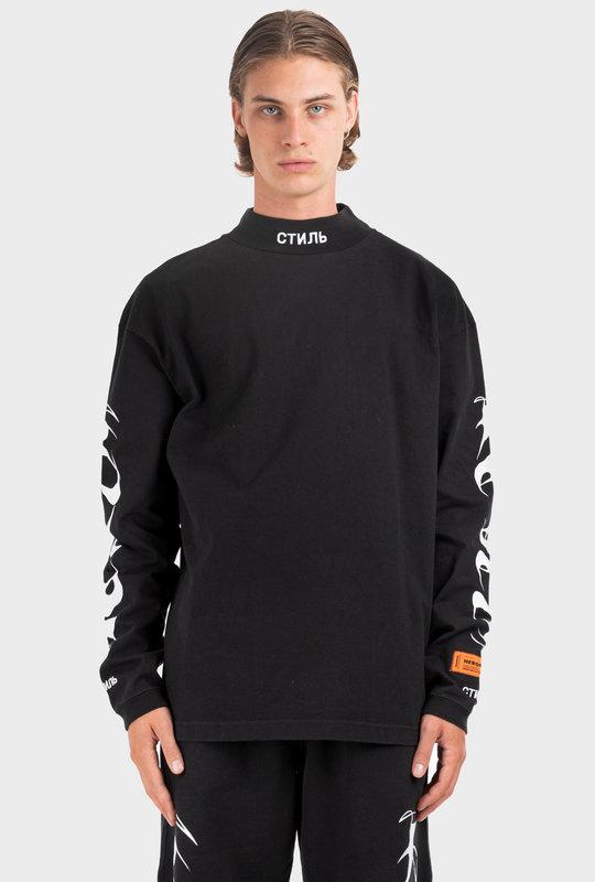 СТИЛЬ Long Sleeve T-Shirt Black