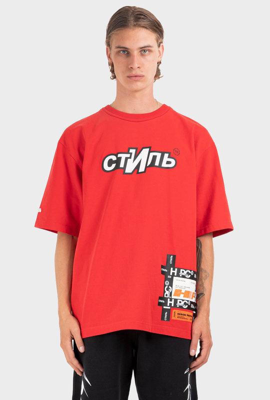 СТИЛЬ Logo T-Shirt Red