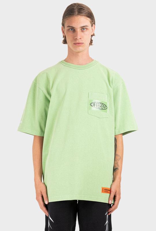 Logo Print T-Shirt Green