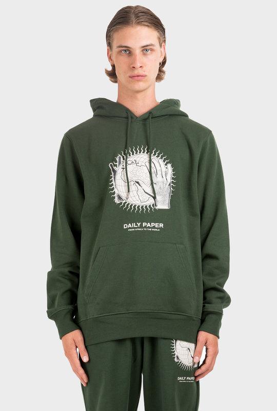 Mountain Hobe Hoodie Green