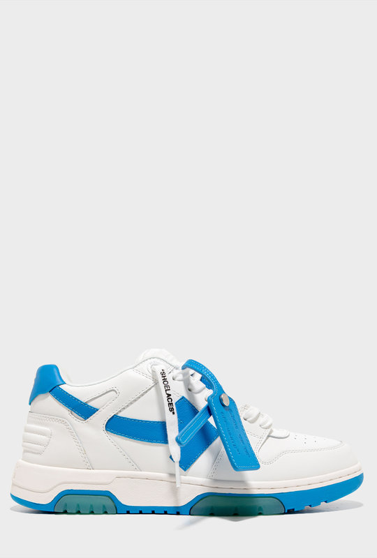 White Blue Out Of Office Sneakers