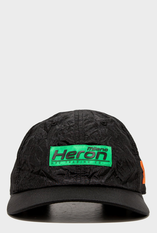 Black Nylon Blend HP Baseball Cap