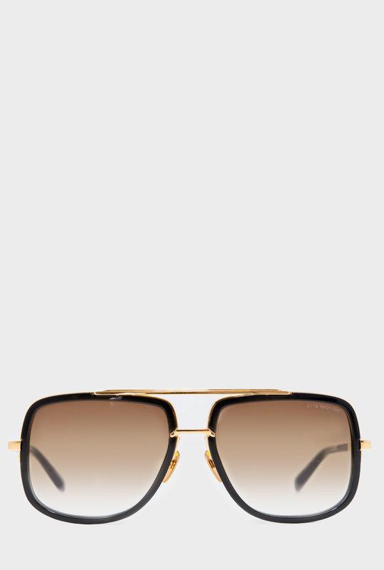 Mach One Gold Black Sunglasses