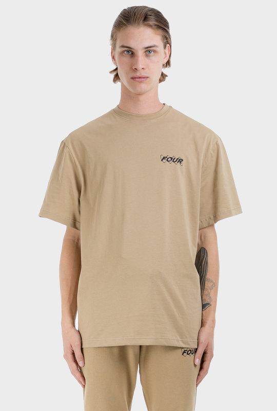 Circles Logo T-shirt Sabbia
