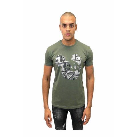 Mickey Tee Army Shirt