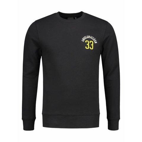 Black Paris City Sweater