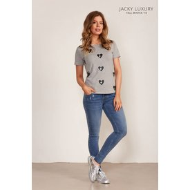 Jacky Luxury Jacky Luxury T-Shirt Broken Hearts