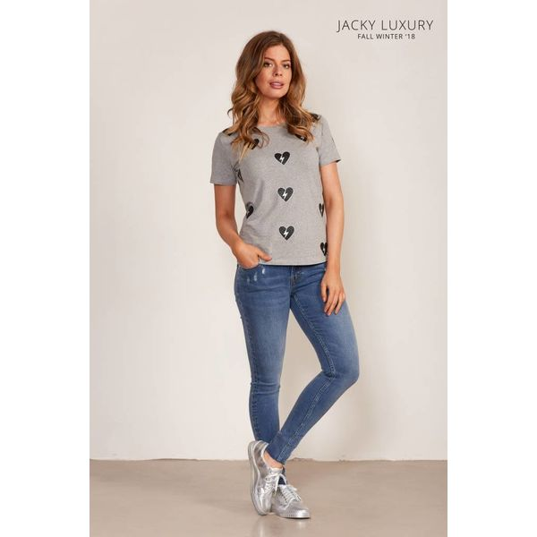 Jacky Luxury Jacky Luxury T-Shirt Broken Hearts