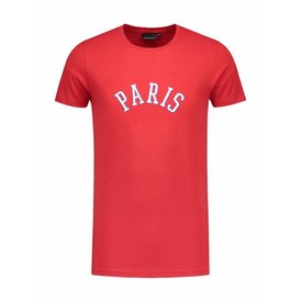 Angel&Maclean Red Paris City T-shirt
