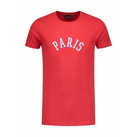 Red Paris City T-shirt