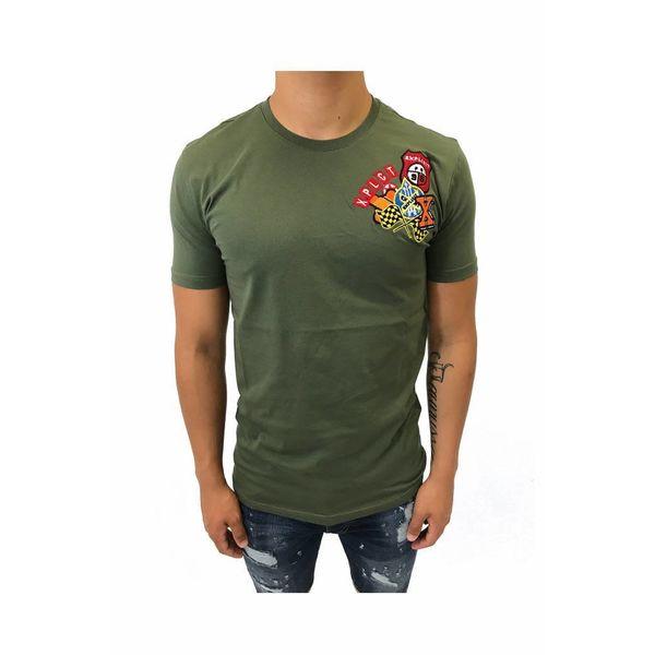 Explicit Explicit Patch Shirt