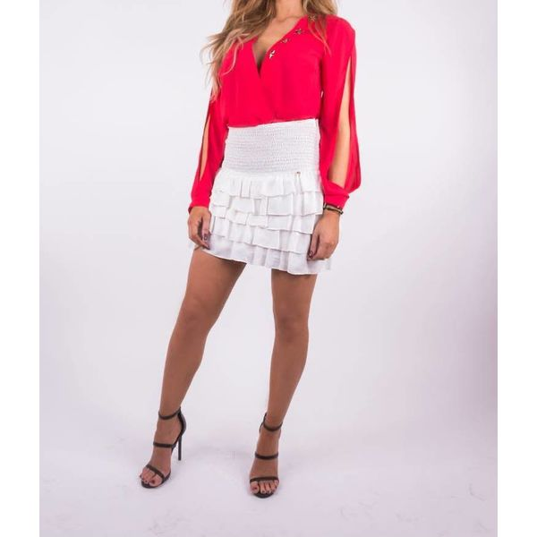 Royal Temptation Blouse Mandy Red