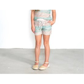 Jacky Luxury Knitted Print Short