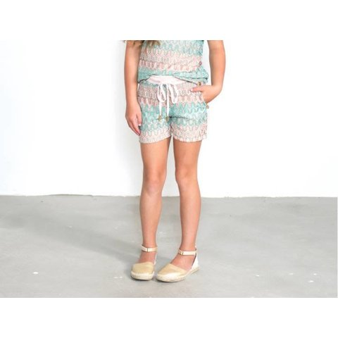 Knitted Print Short