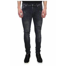 My Brand Jack 042 Studs Destroyed Jeans