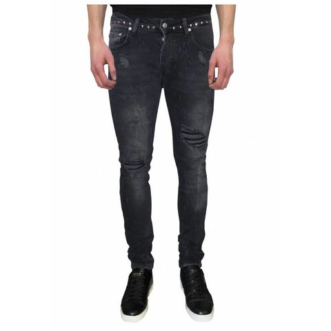 Jack 042 Studs Destroyed Jeans