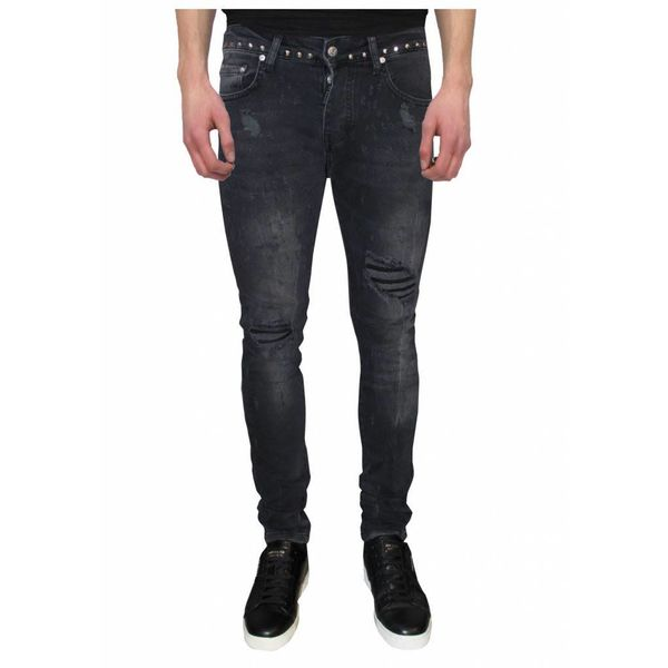 My Brand Jack 042 Studs Destroyed Jeans