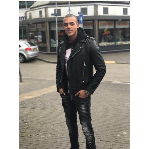 Explicit Ace Leather Jacket