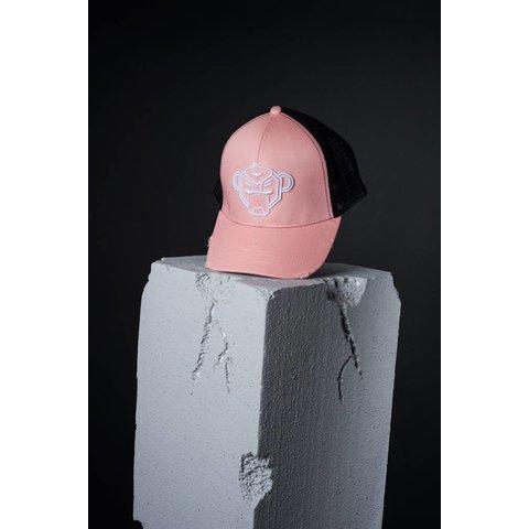 Pastel Truckercap Zalm