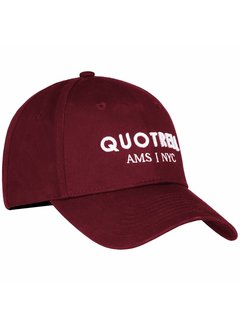 Quotrell BRAND CAP BORDEAUX