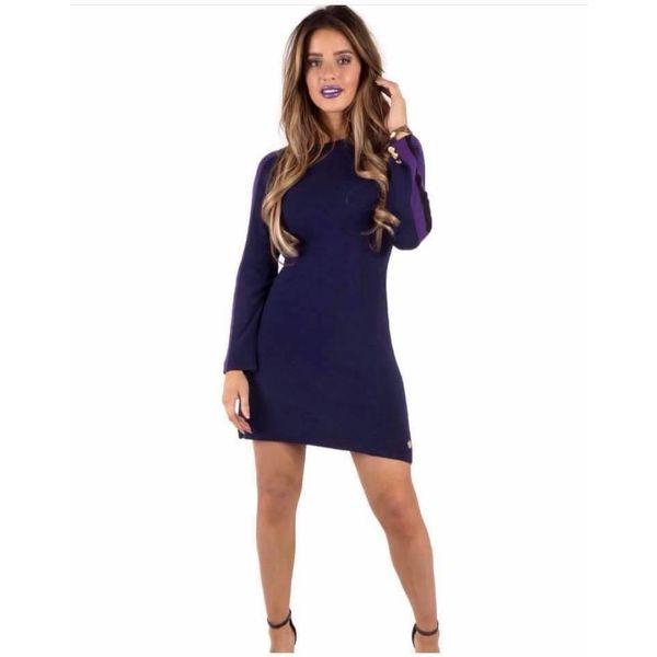 Royal Temptation dress purple