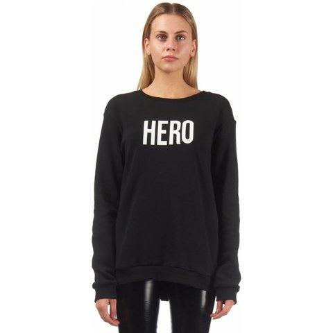 HERO SWEATER BLACK