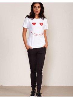 Jacky Luxury T-Shirt Artwork White