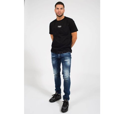 My Brand STUDDED T-SHIRT BLACK