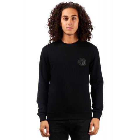 Luigi Badge sweater Black