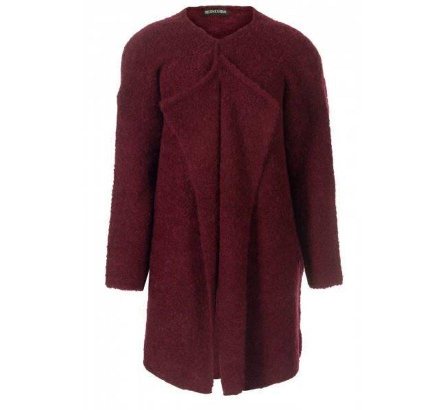 Os Vest Short Bordeaux (One Size)