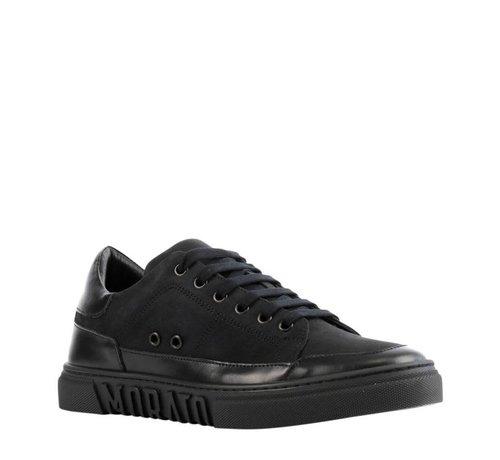 Antony Morato nubuck sneakers Black
