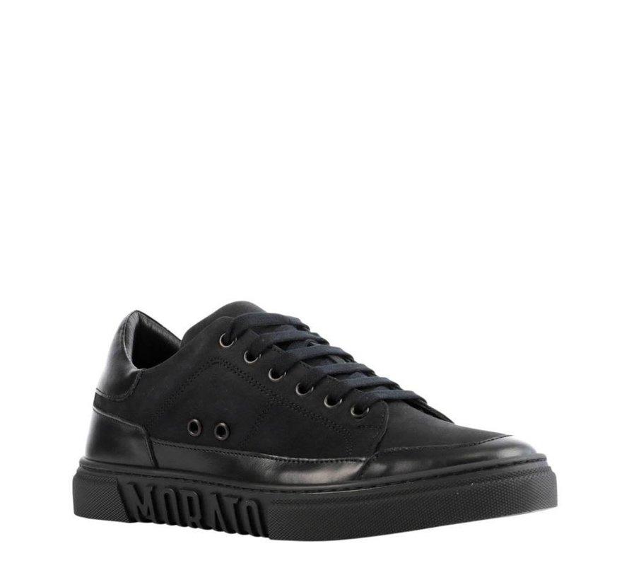 nubuck sneakers Black