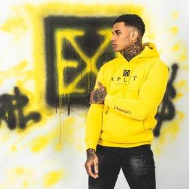 Explicit Brand Hoodie Yellow