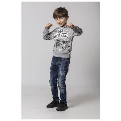 Graffitti Logo Sweater (Boys)