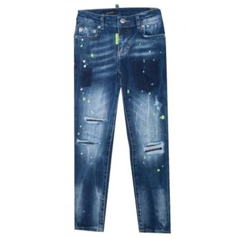 My Brand Pietro 033 Yellow Destroyed Jeans Blue