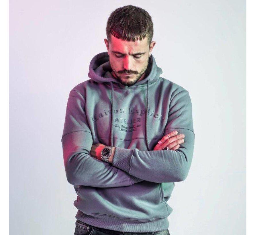 Atelier hoodie Grey