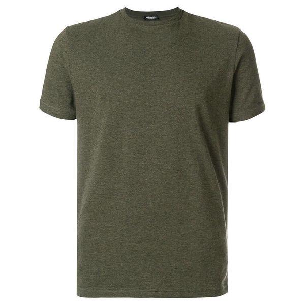 Dsquared2 Underwear Shirt Green Round Neck