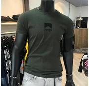 Pure White Shirt Army Green 19010126