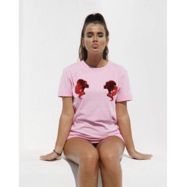 Reinders Headlogo's Shirt Pink 2019