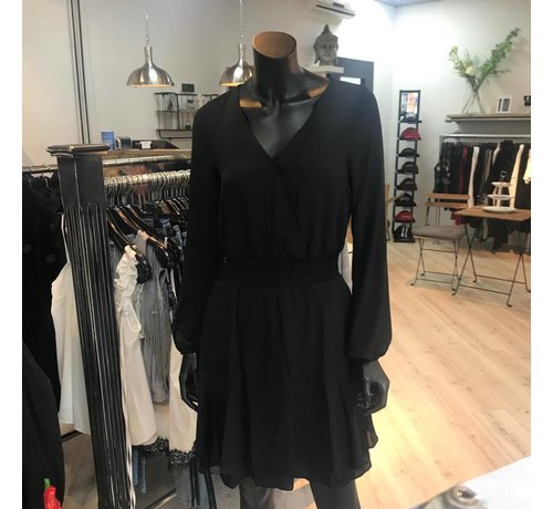 Jacky Luxury Dress With Ruffle Skirt