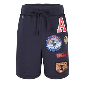 Jacky Luxury Shorts Badges Navy ( Kids )