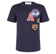 Jacky Luxury T-Shirt Badges Navy ( Kids )