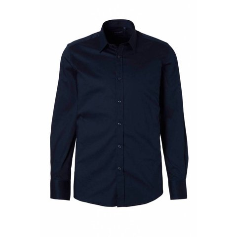 Super Slim Fit Blouse Navy
