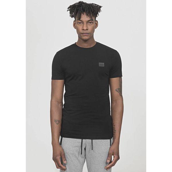 Antony Morato Sporty T-Shirt Plaque Detail Black