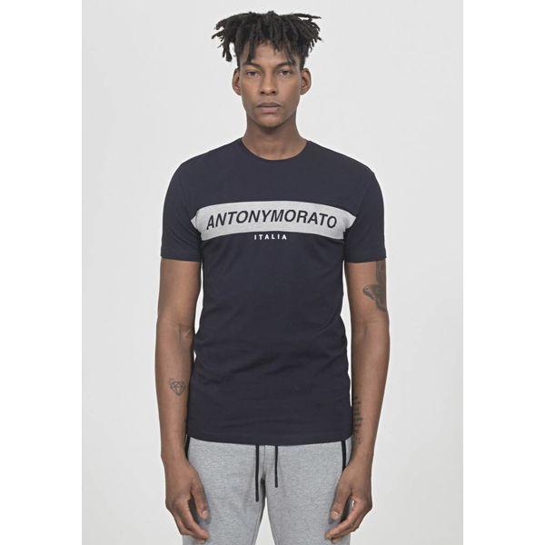 Antony Morato Logo Shirt Dark Blue