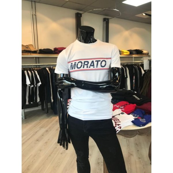 Antony Morato White Morato Logo Shirt