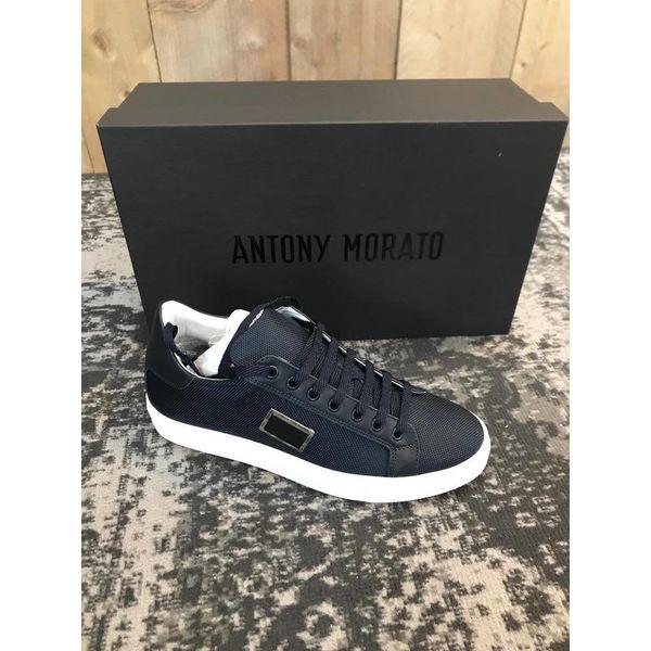 Antony Morato Sneakers Black Metal Logo