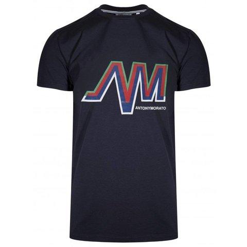 AM Logo Shirt Blue
