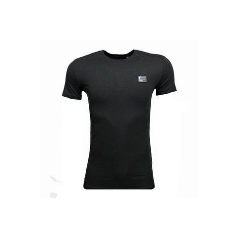 Basic T-Shirt Black Metal Logo